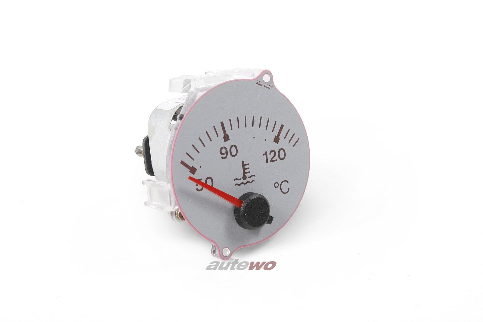 895919511 NEU Audi S2 Coupe Typ 89/B4 Wassertemperaturanzeige VDO lichtgrau