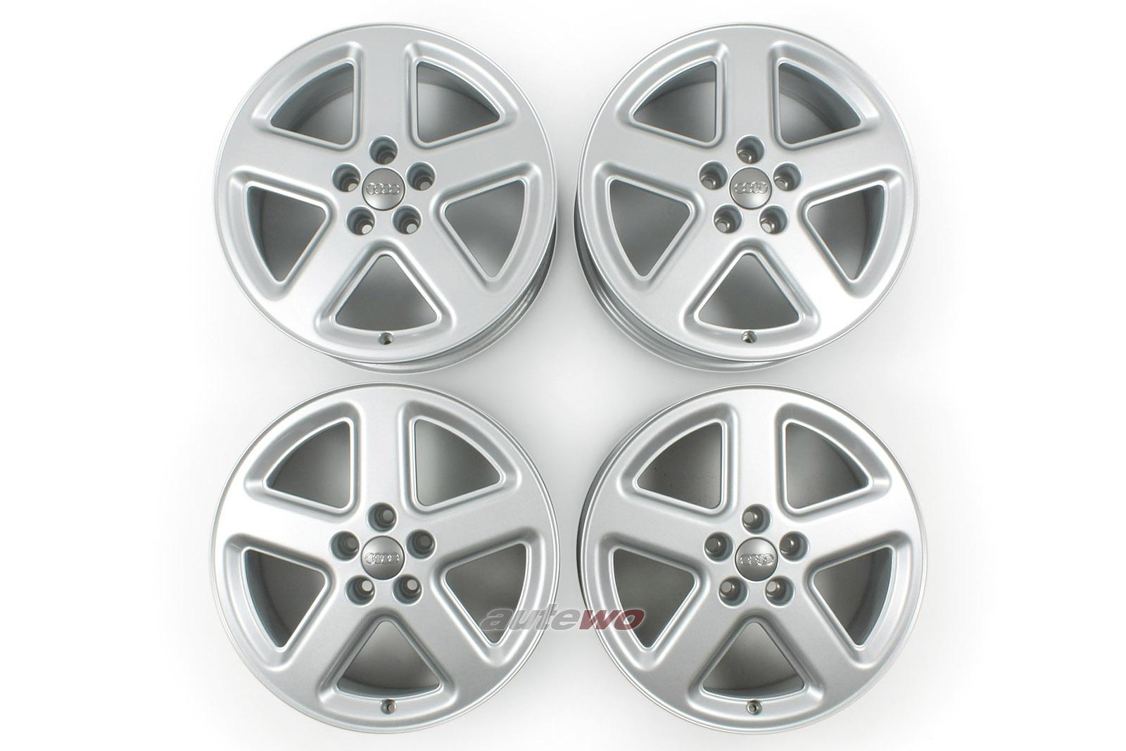 4D0601025AD NEU Audi A8/S8 D2 Satz 5-Speichen-S-Line-Felgen 8x18 ET48 5x112