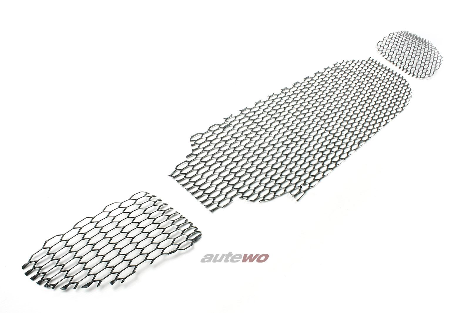 8A0807681/8A0807682/8A0807683G NEU Audi RS2 Set Luftführungsgitter Stoßstange