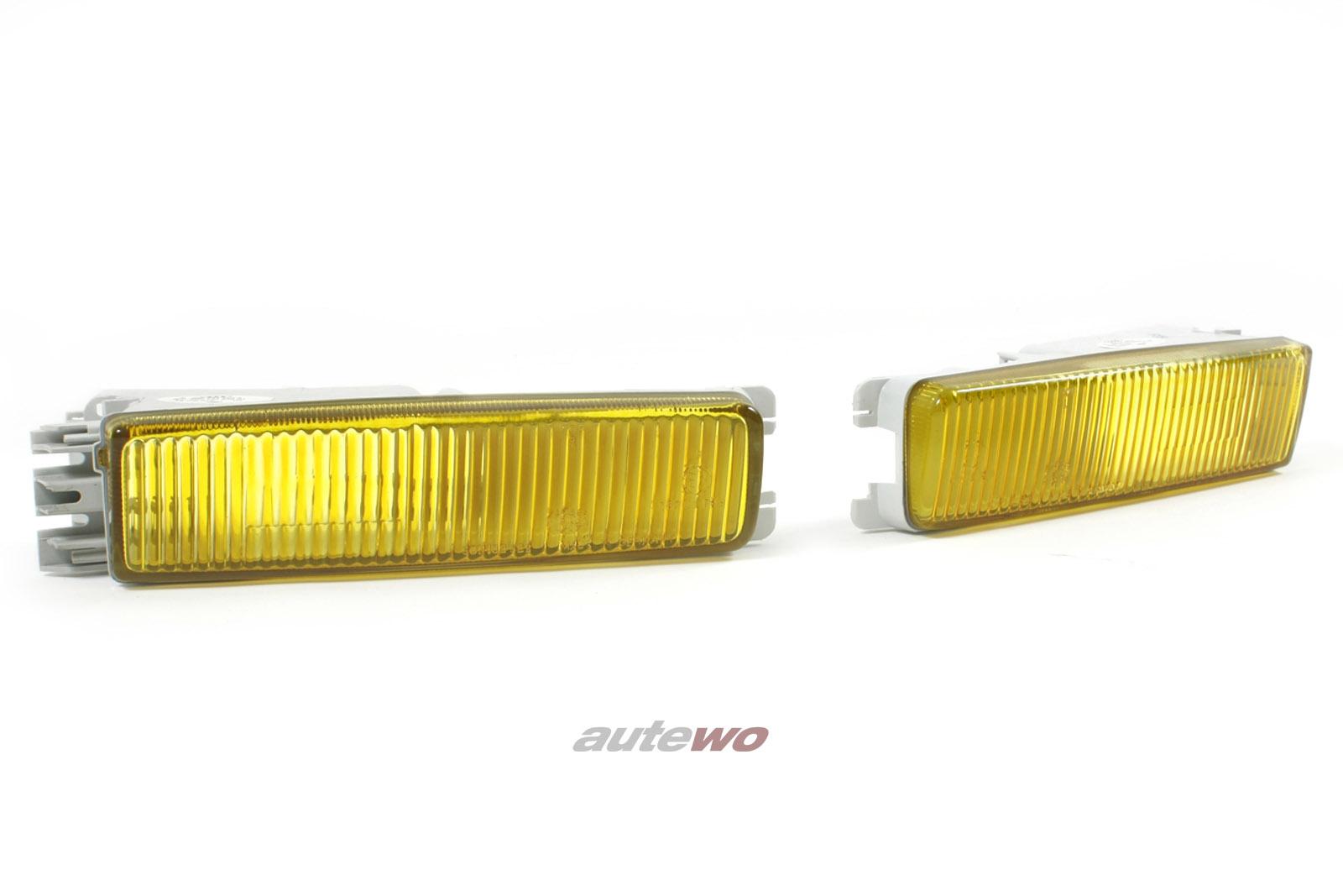 895941723A & 895941724A NEU Audi 90/Coupe Typ 89 Nebelscheinwerfer Gelblicht