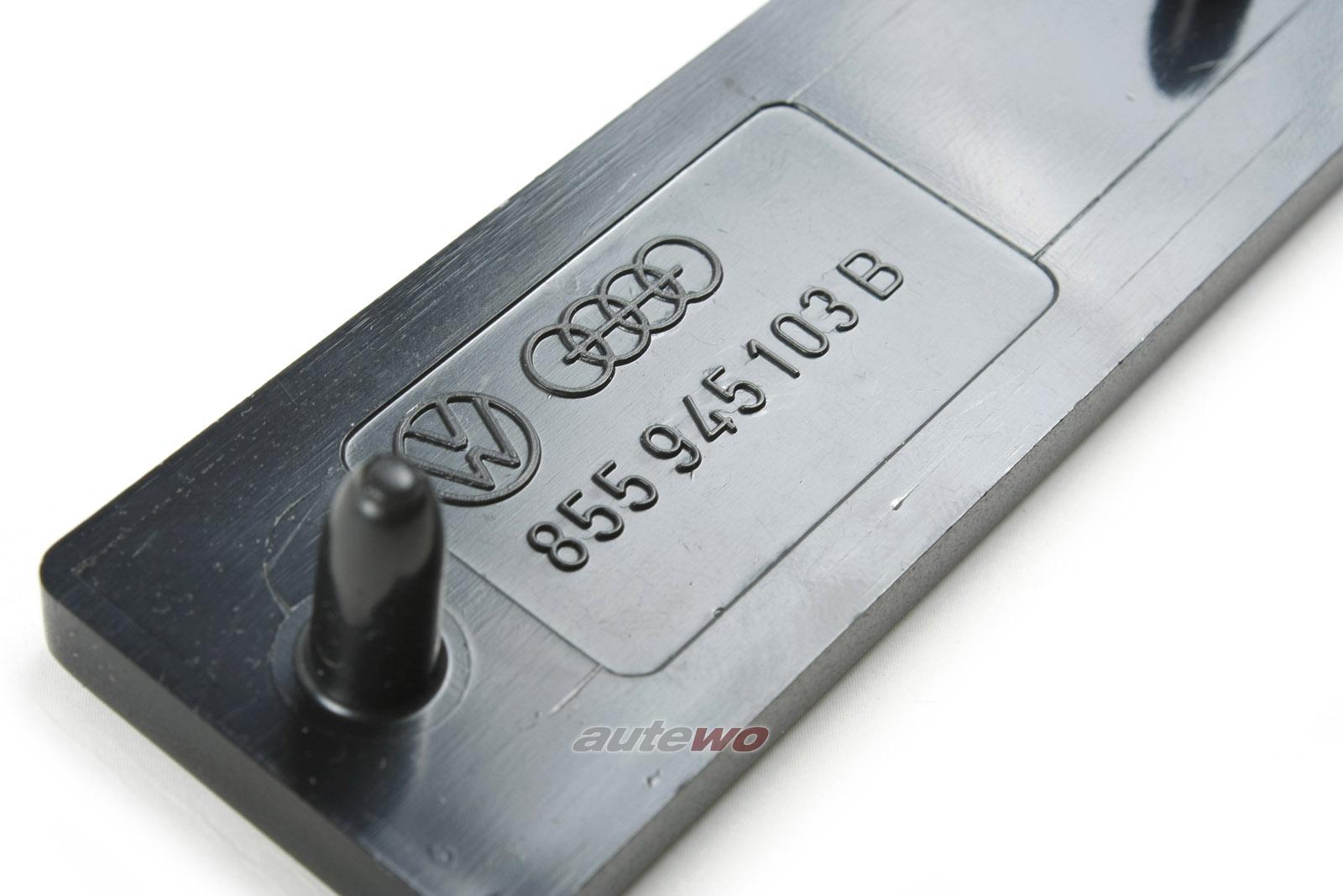 855945103B NEU Audi Coupe 81/85/Urquattro Rückstrahler Stoßstange