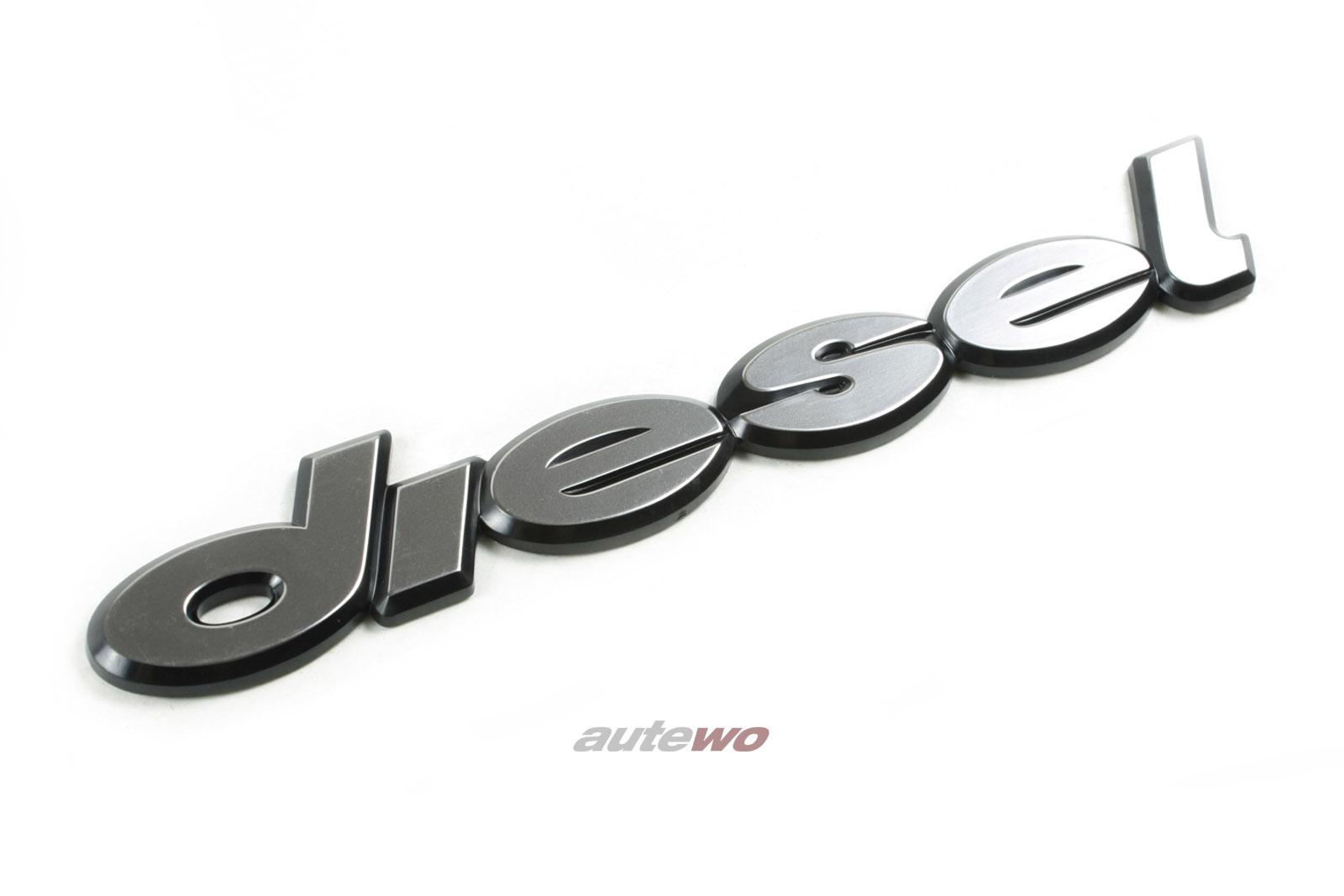 811853738A NEU Audi 80 Typ 81/100 Typ 43 Diesel Schriftzug
