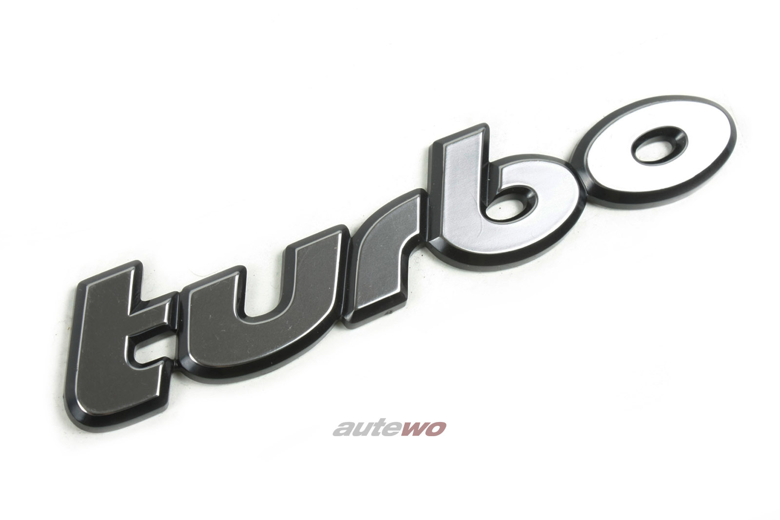 811853737A NEU Audi 80 Typ 81/100 Typ 43 Turbo Schriftzug