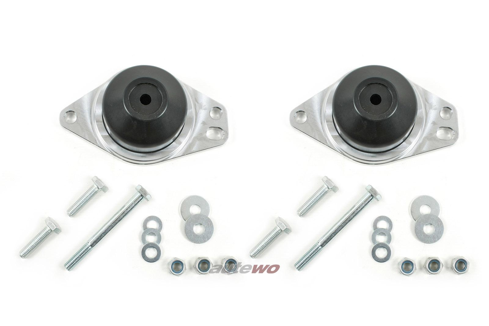 034 Audi 80/90/Coupe 85/89/B4/S2/RS2/Urquattro/S4/S6 C4 2x Motorlager verstärkt