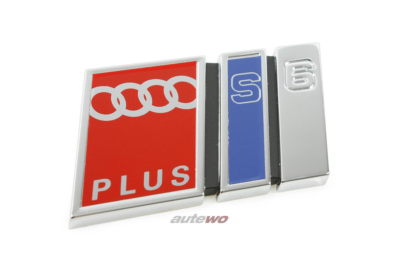 4A9853735C NEU Audi S6+ C4 Emblem/Schriftzug Hinten 2ZZ