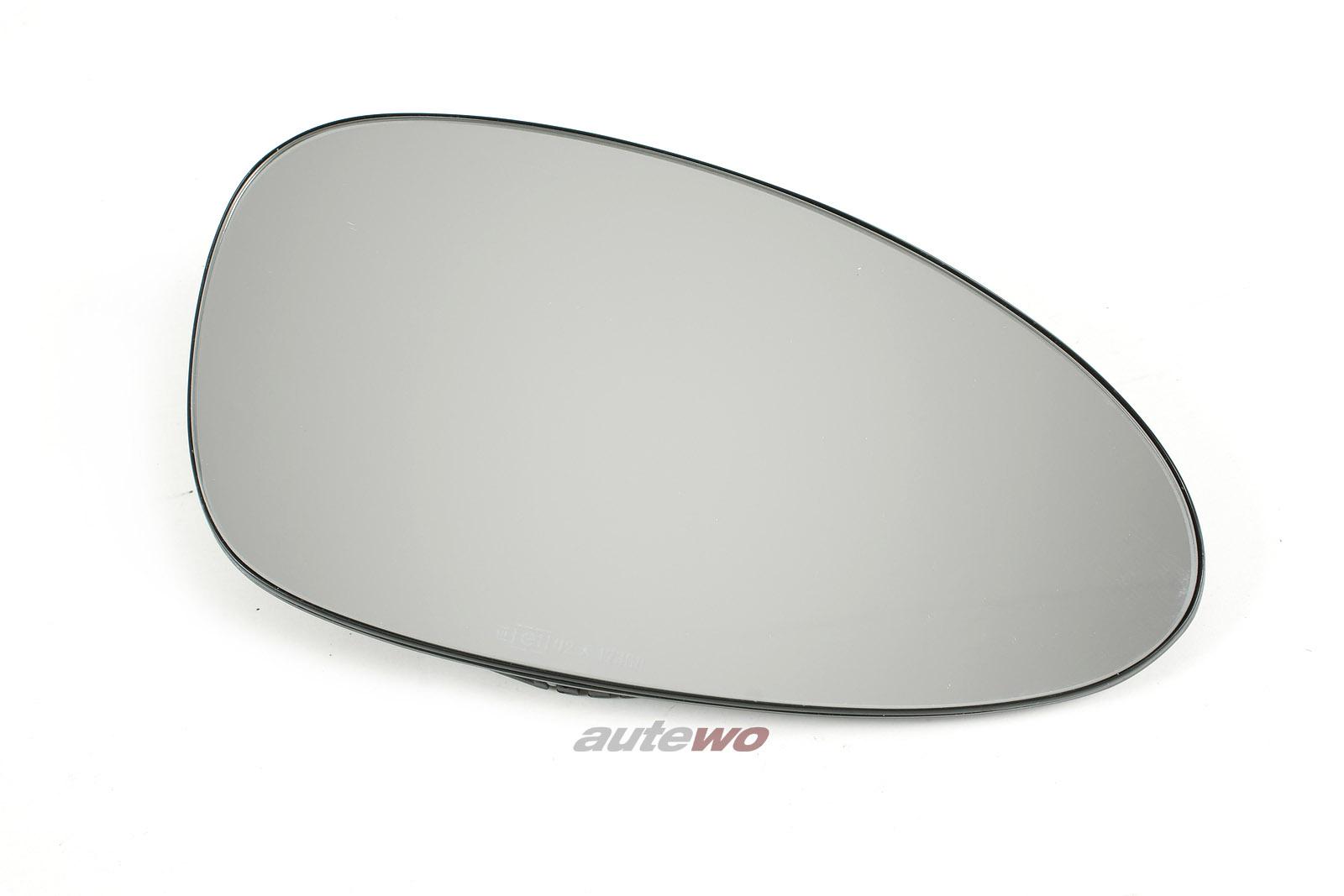 8A0857536 NEU Audi RS2 Außenspiegelglas beheizbar Rechts