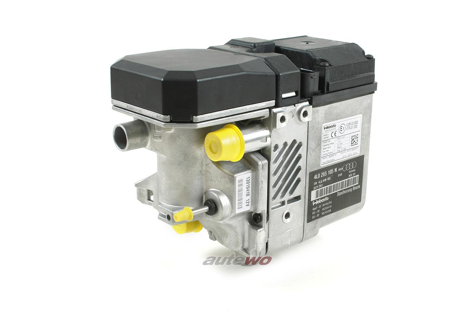 4L0265105Q NEU Audi Q7 4L Heizgerät Standheizung Webasto Benzin-Motor