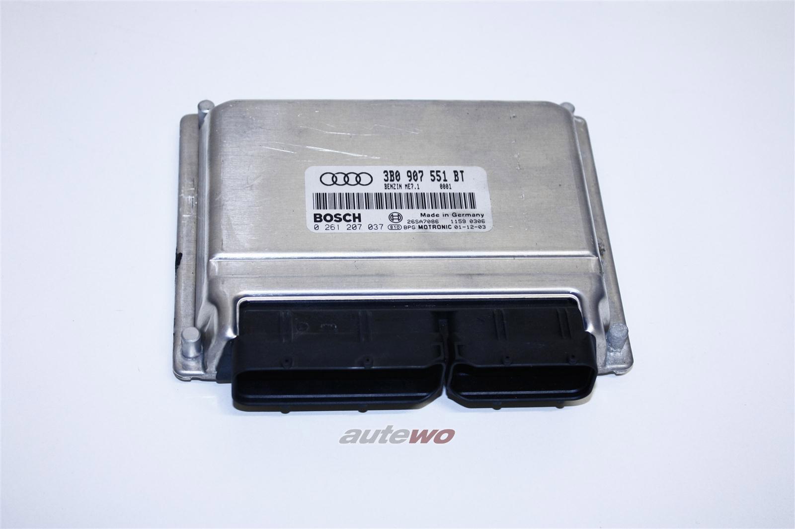 Audi A8 D2 2.8l 193PS AMX Motorsteuergerät 3B0997551CX 3B0907551BT