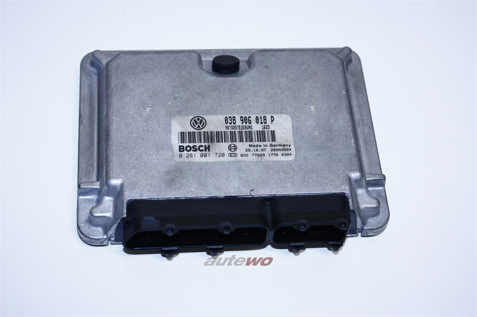 Audi A4 B5 1.9l 110PS AFN Motorsteuergerät 038906018P