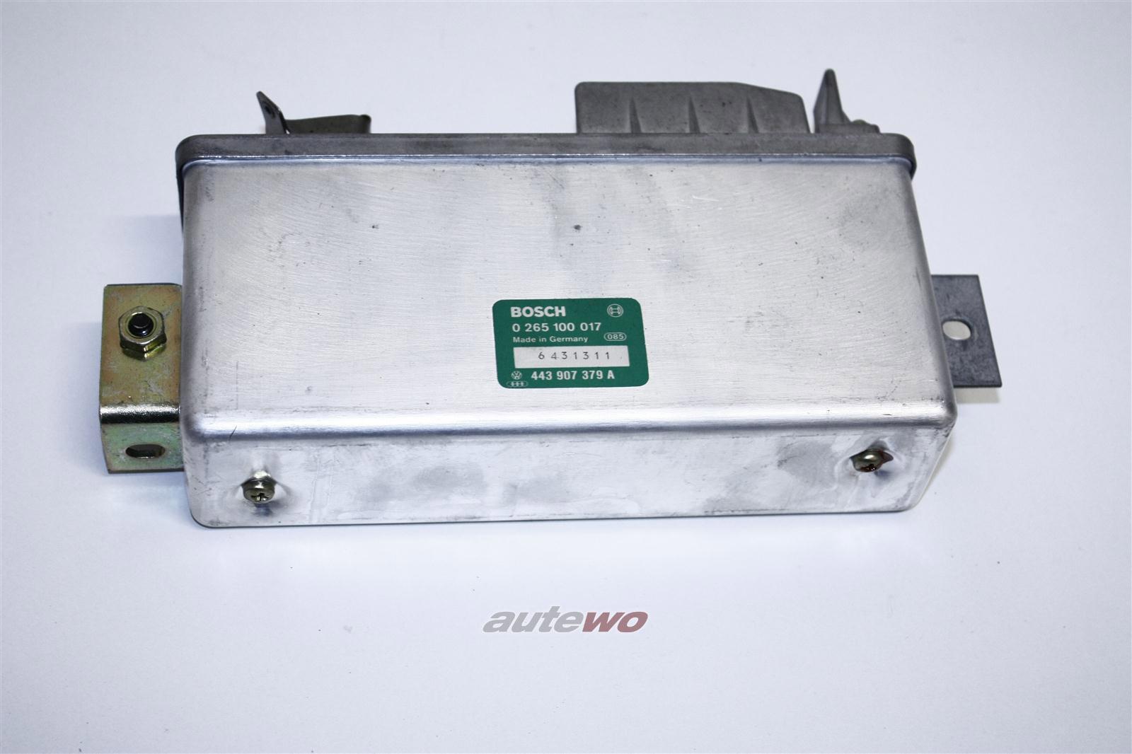 Audi 80/90 Typ 81/100 Typ 44 ABS Steuergerät 443907379B