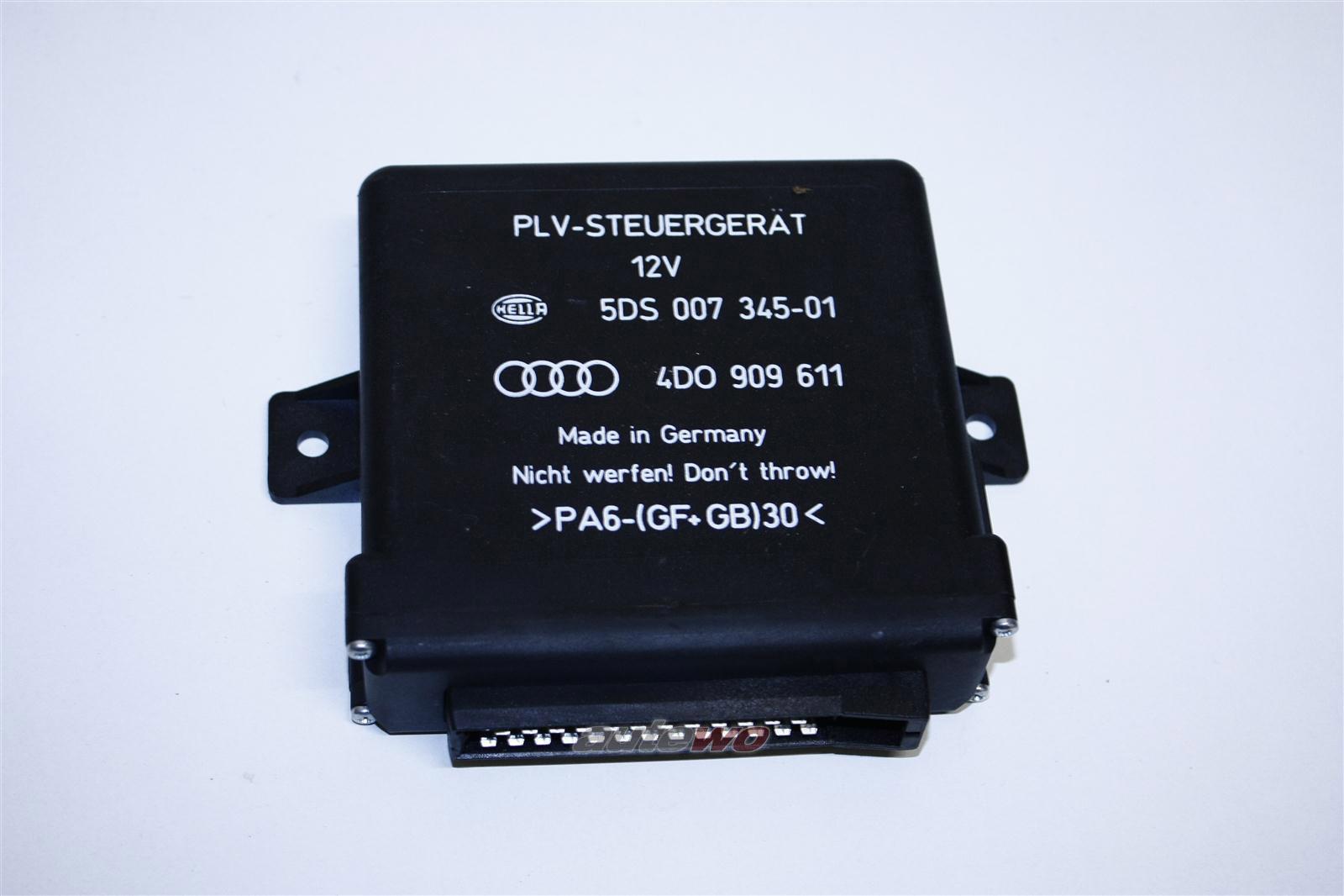 Audi A6 4B/A8 D2 Steuergerät elektrisch verstellbares Lenkrad 4D0909611