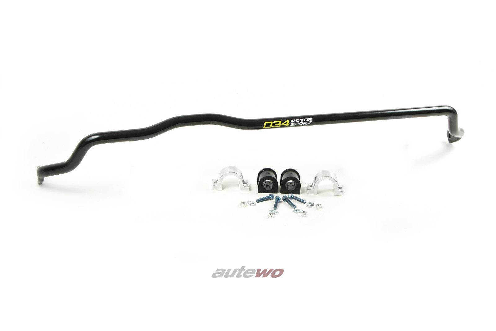 034Motorsport Audi 80 B4/S2/RS2/A4/S4/RS4 B5 verstellbarer Stabilisator 25mm