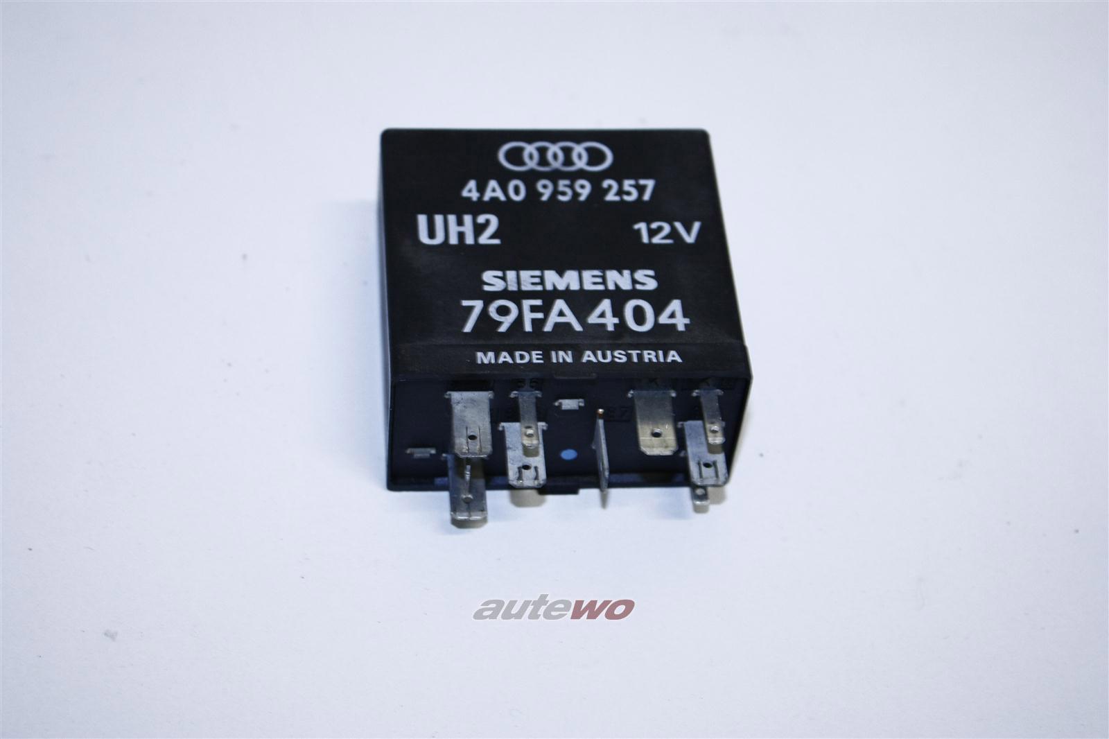 Audi 80/90 Typ 89/B4/100 Typ 44/C4 Steuergerät eFH 363 443959257B 4A0959257