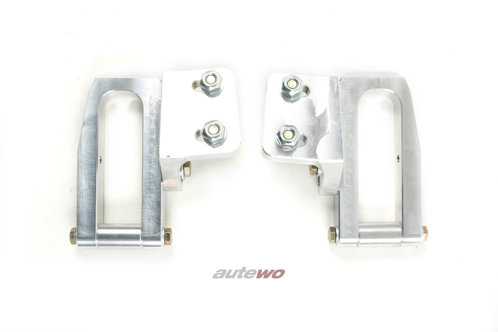 034Motorsport Audi 80 B4/S2/RS2/A4/S4/RS4 B5 Hinterachsträger-Verstärkungen
