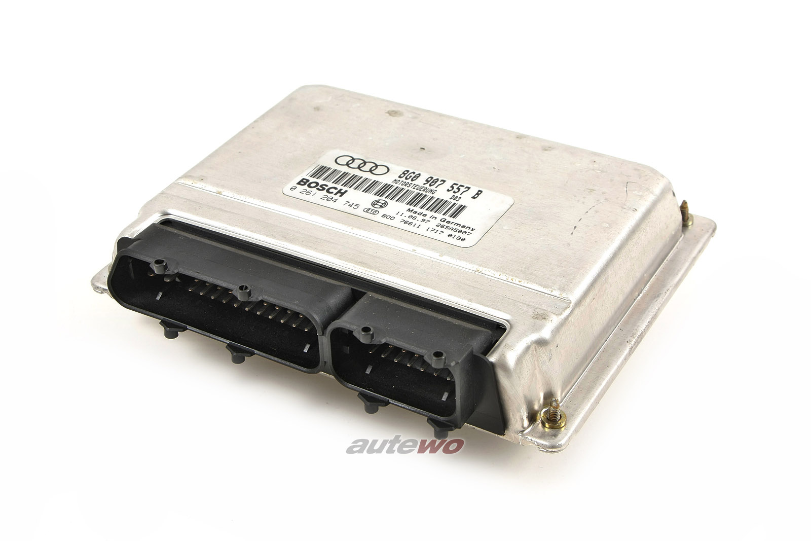 8G0997557 X 8G0907557B 0261204745 Audi 80 Cabrio 89 1.8l Motorsteuergerät