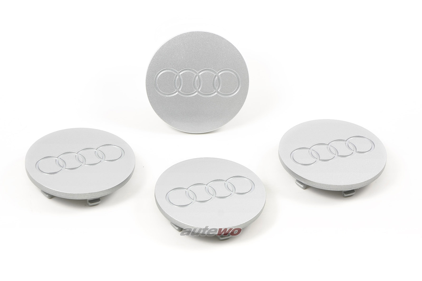 8A0601171B NEU Audi RS2 P1 Set originale Radnabendeckel