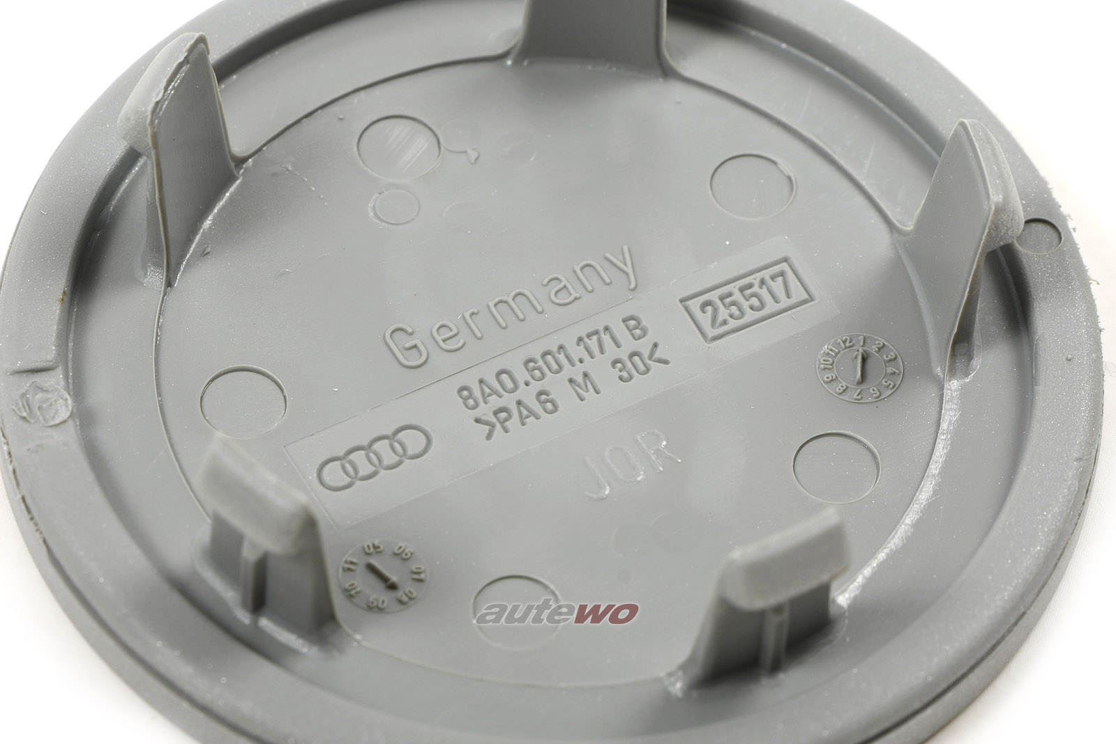 8A0601171B NEU Audi RS2 P1 Set originale Radnabendeckel