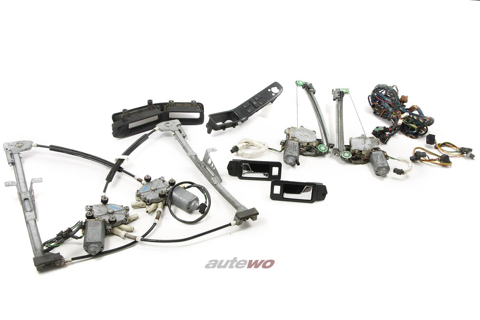 Audi 80/90 Typ 89/B4 Nachrüstsatz 4x elektrische Fensterheber