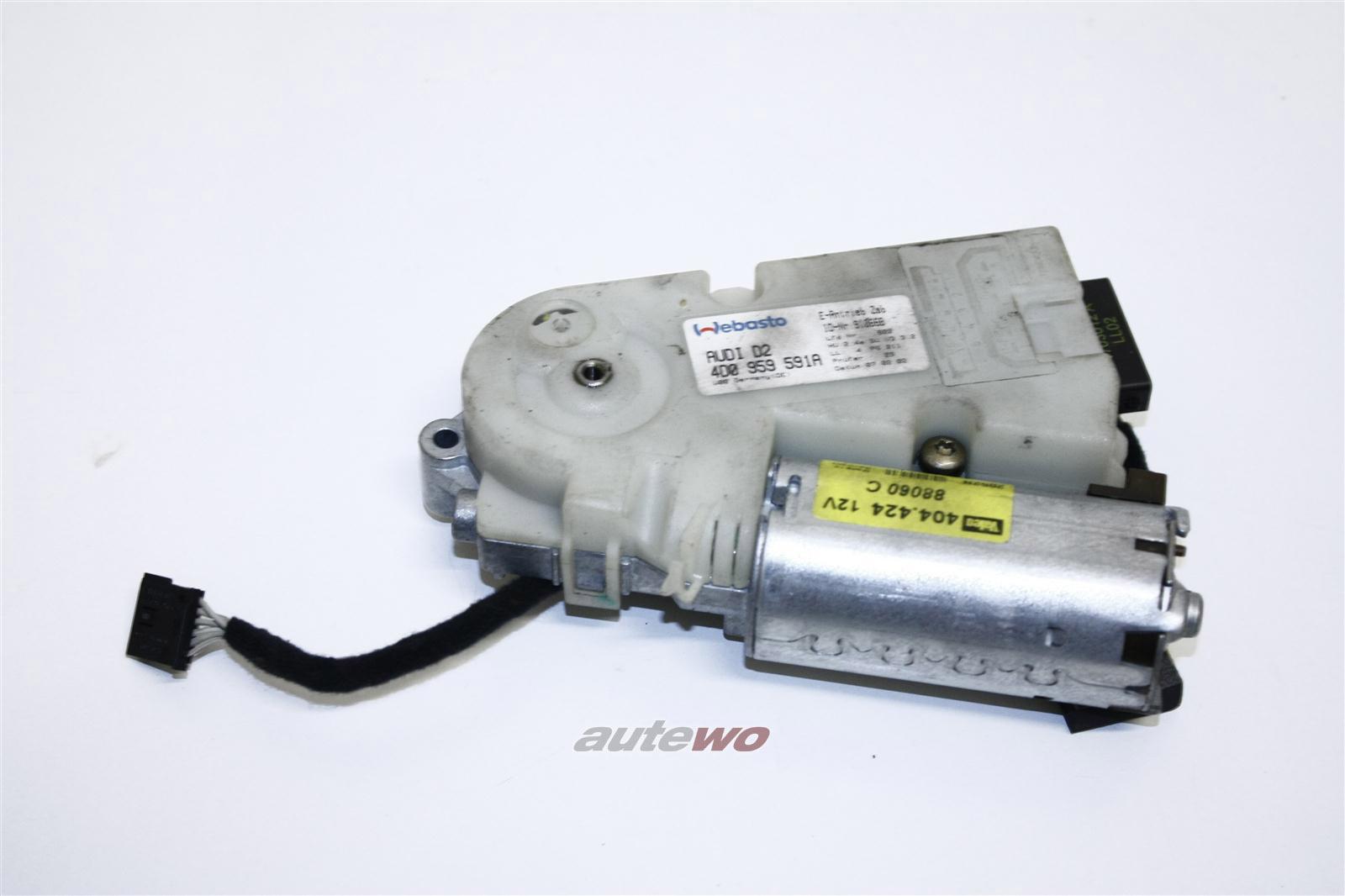 Audi A8 D2 Schiebedachmotor Vorwahlautomatik 4D0959591A