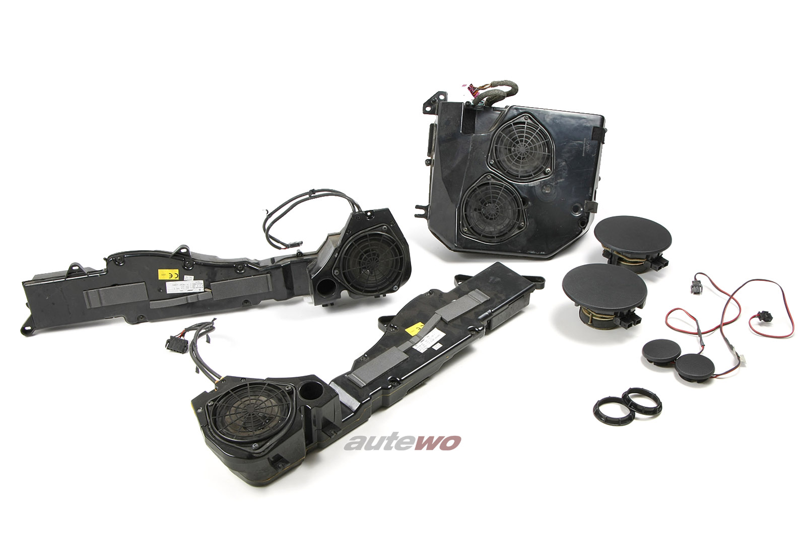 Audi 100/S4/A6/S6 C4 Avant Set Bose-Soundsystem komplett inkl. Kabelbaum