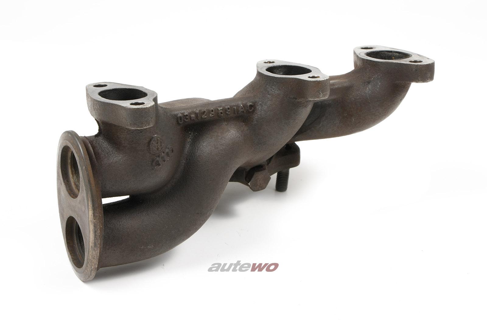 034129591AC Audi 100/200 Typ 44 2.2l 5 Zylinder 10V Turbo MC Abgaskrümmer