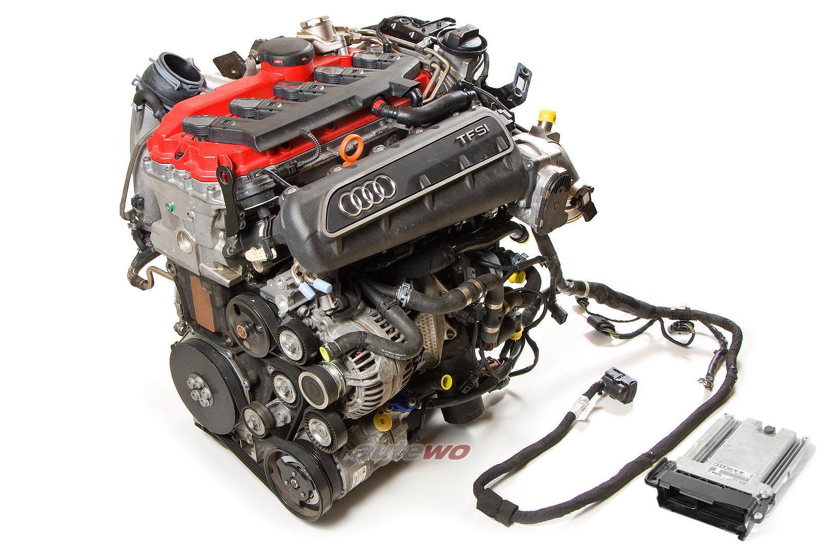 07K100032BX Audi RS3/TT RS 2.5l TFSI CEP Motor inkl. Anbauteile & Steuergerät