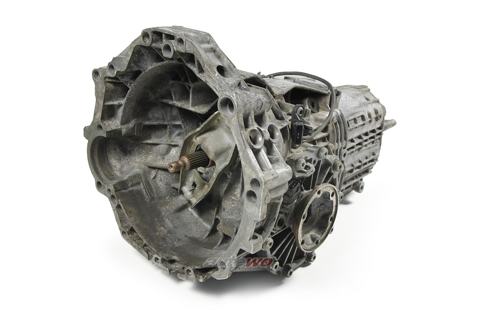 012300049HX Audi/VW A4 B5/A6 4B/Passat 1.8l Schaltgetriebe 5-Gang DDU 06087
