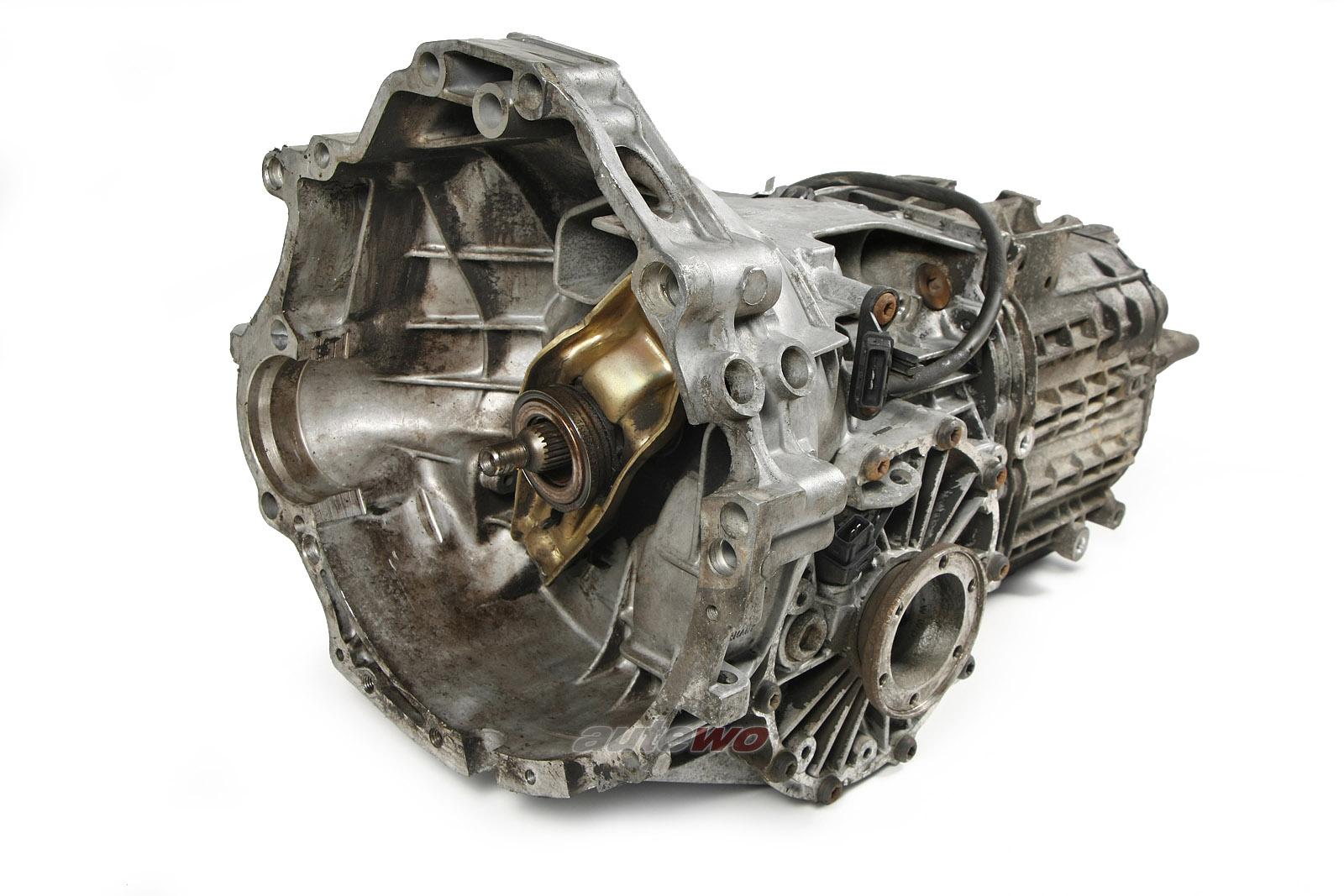 012300046RX Audi 80 Typ 89 1.6l Getriebe 5-Gang CAA 26100