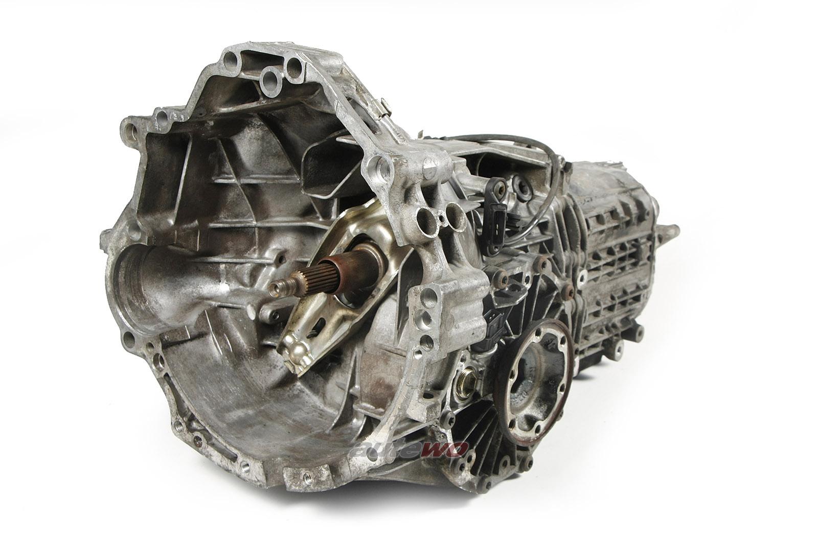 012300054KX Audi 80 Typ 89 Cabrio/A4 B5/A6 4B 1.8l Getriebe 5-Gang DWA 11118