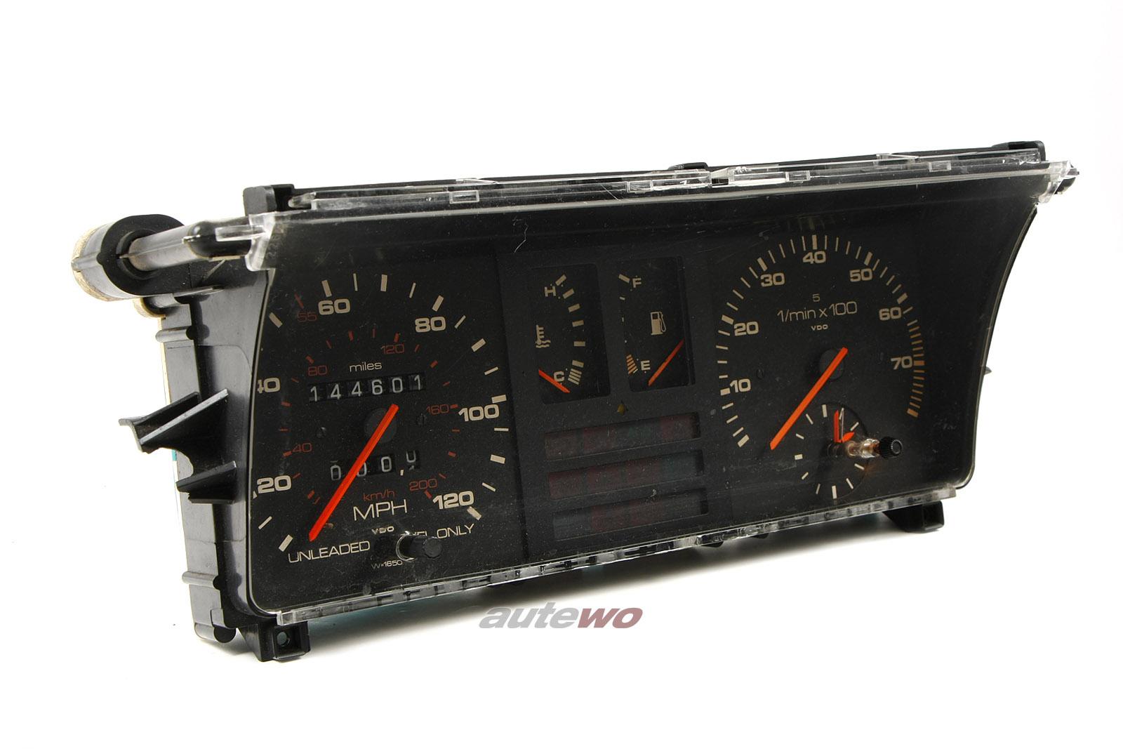 Audi 80/90/Coupe Typ 81/85 US-Kombiinstrument 200km/h/120mph