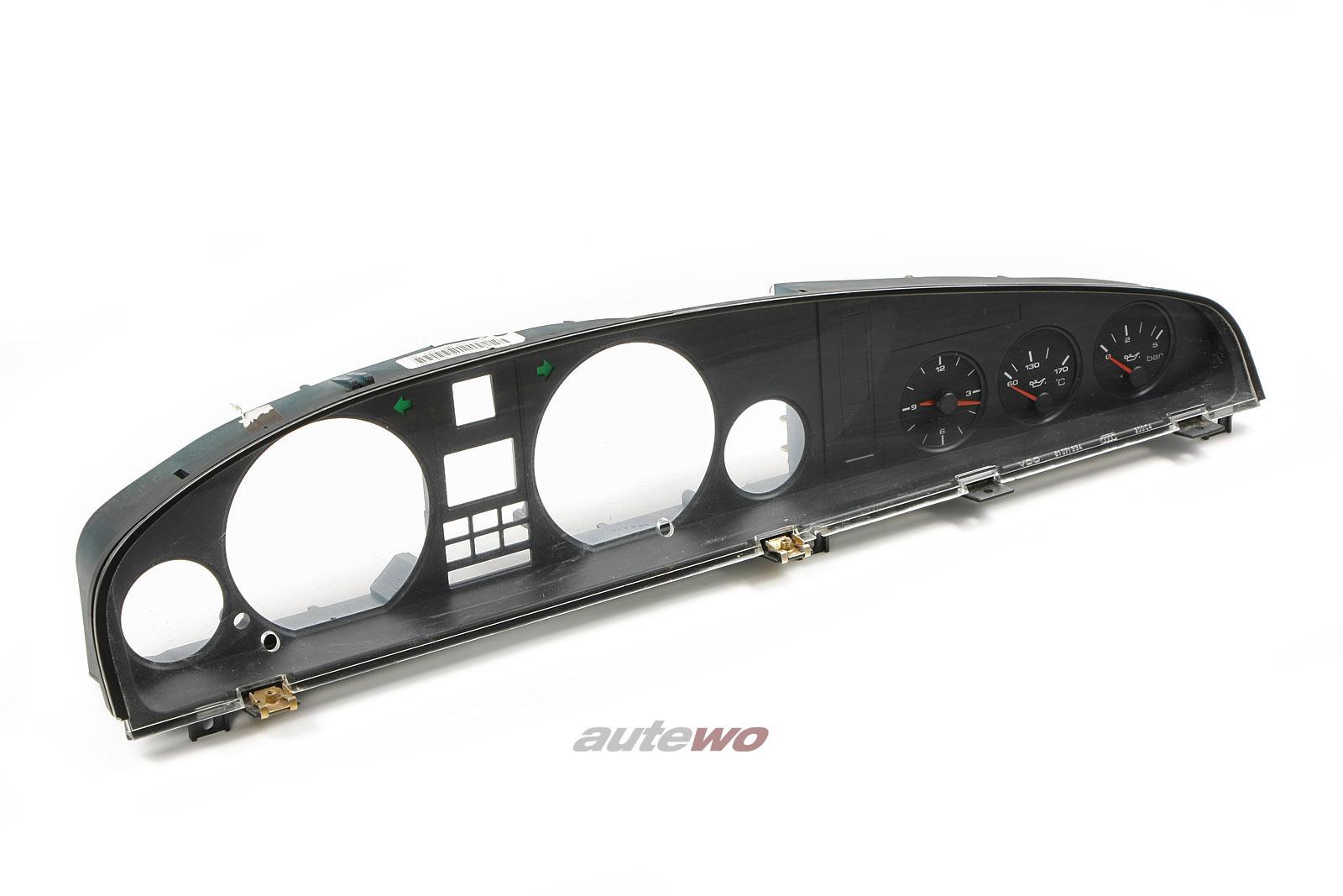 4A1919208A Audi 100 C4  Zusatzinstrumente + Instrumentengehäuse