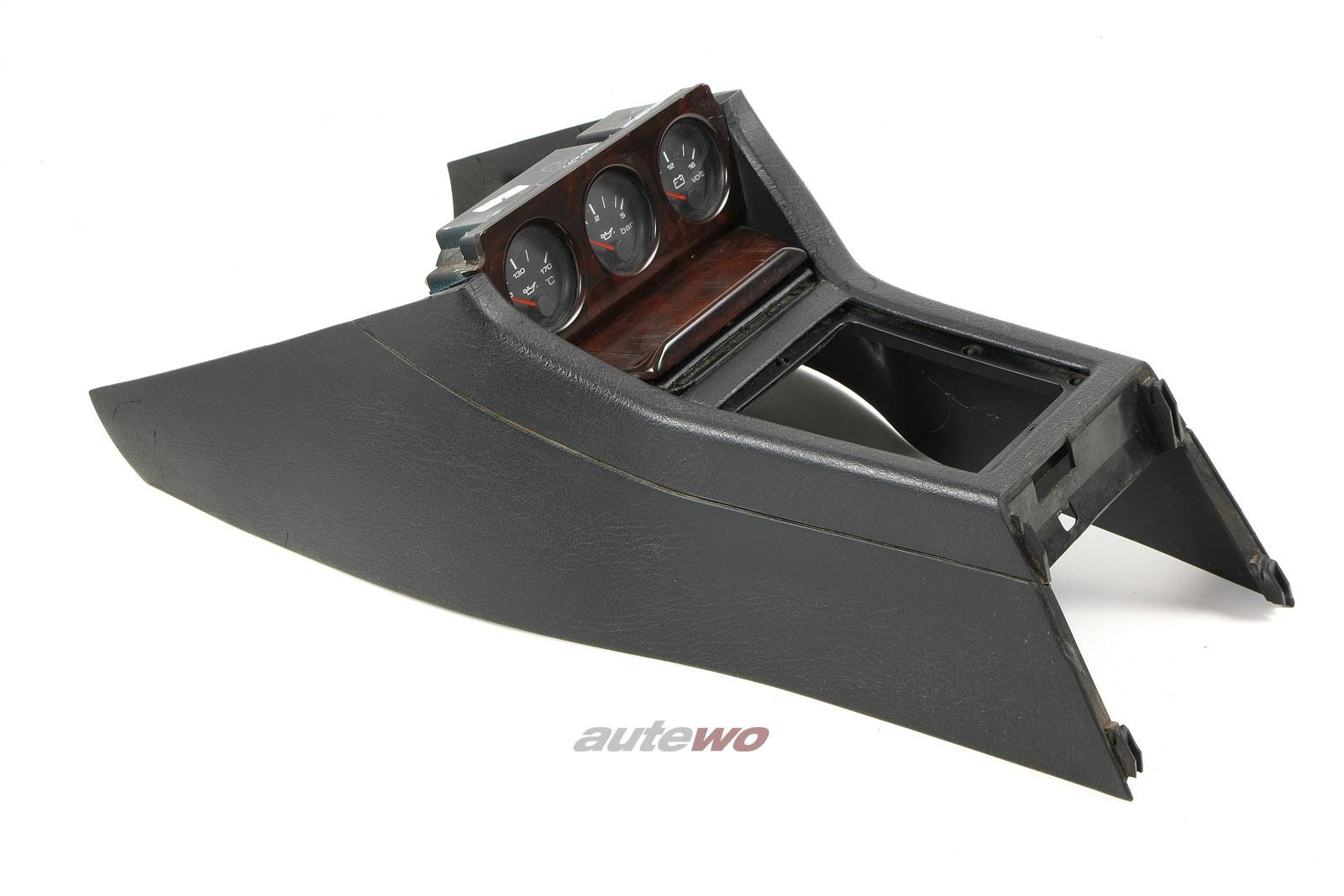 8A1919214C Audi 80 B4/Coupe/Cabrio Typ 89 Konsole Zusatzinstrumente Wurzelholz