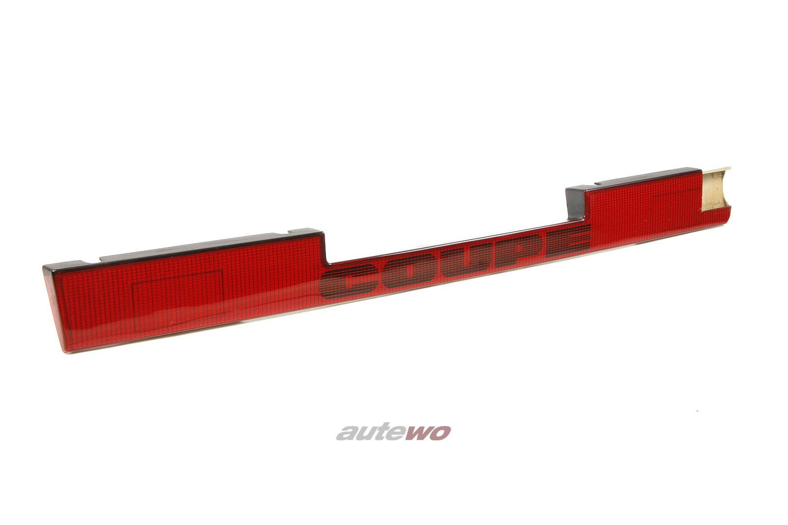 85594569B Audi Coupe Typ 81/85/Urquattro Heckblende Schweiz/USA rot