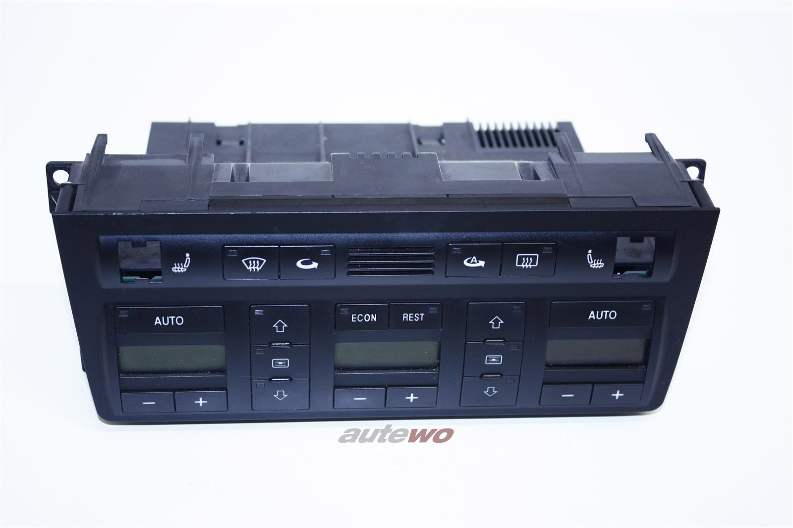 Audi A8 D2 Klimatronic-Display + Sitzh. & Doppel-DIN 4D0820043Q