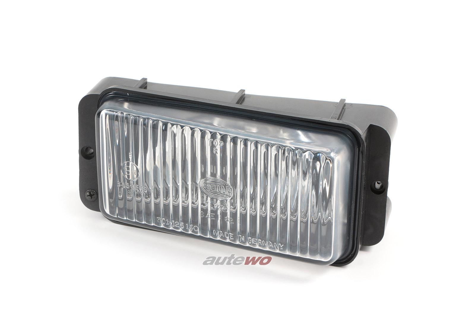 NEU Audi 100/200 43/Urquattro Nebelscheinwerfer HELLA rechts entsprich 437941724
