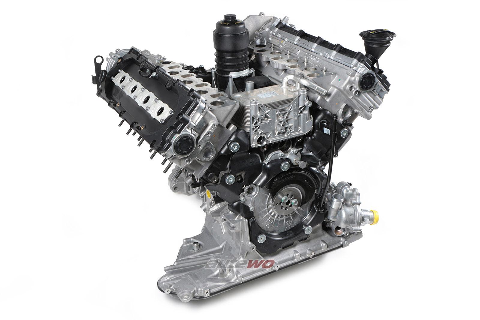 #057100031M NEU Audi A8 D4/4H 4.2l 385PS 8 Zylinder CTE Motor im Austausch