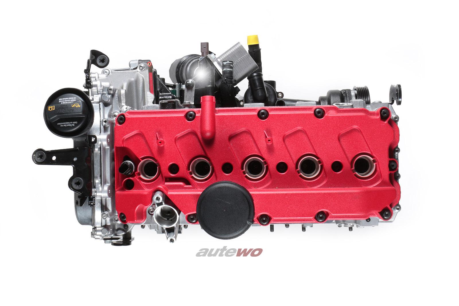 #07K100032H NEU Audi RS3 8V 2.5l TFSI 340PS 5 Zylinder CZGB Motor im Austausch