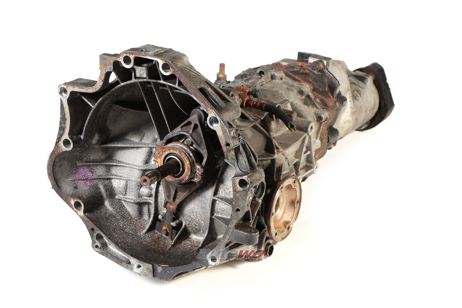016300046K Audi 100 44 5 Zyl Getriebe quattro AAH 07116 151000km