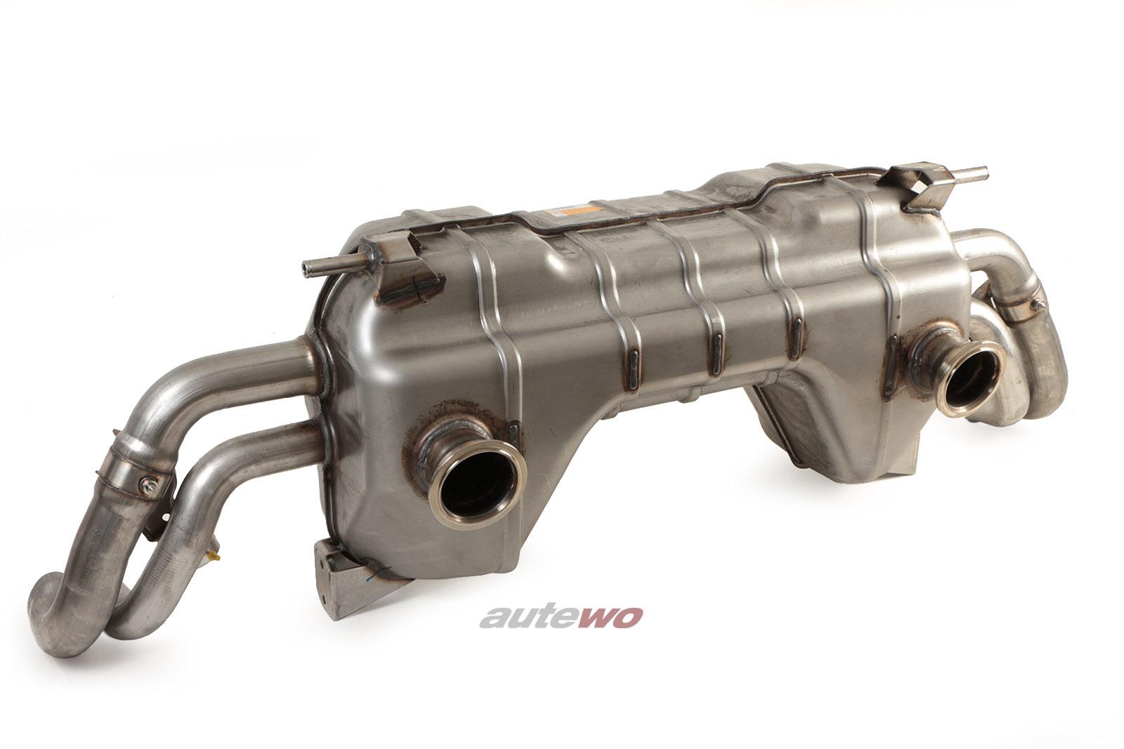 420251051JX NEU Audi R8 V10 GT 5.2l TFSI Endschalldämpfer mit Katalysator