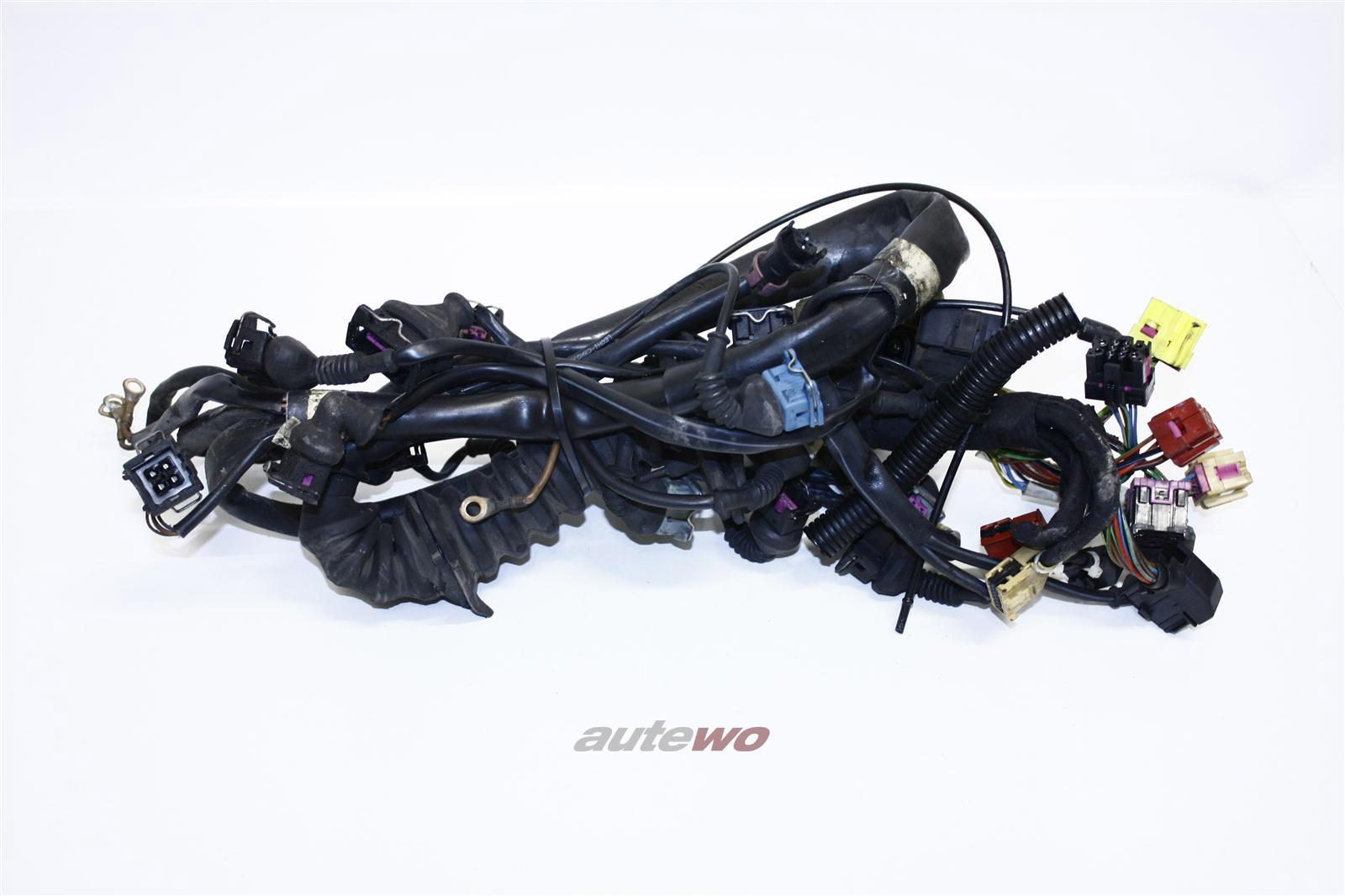 Audi A4 B5 2.6l 150PS ABC Motorkabelbaum Schaltgetriebe 8D1971072H