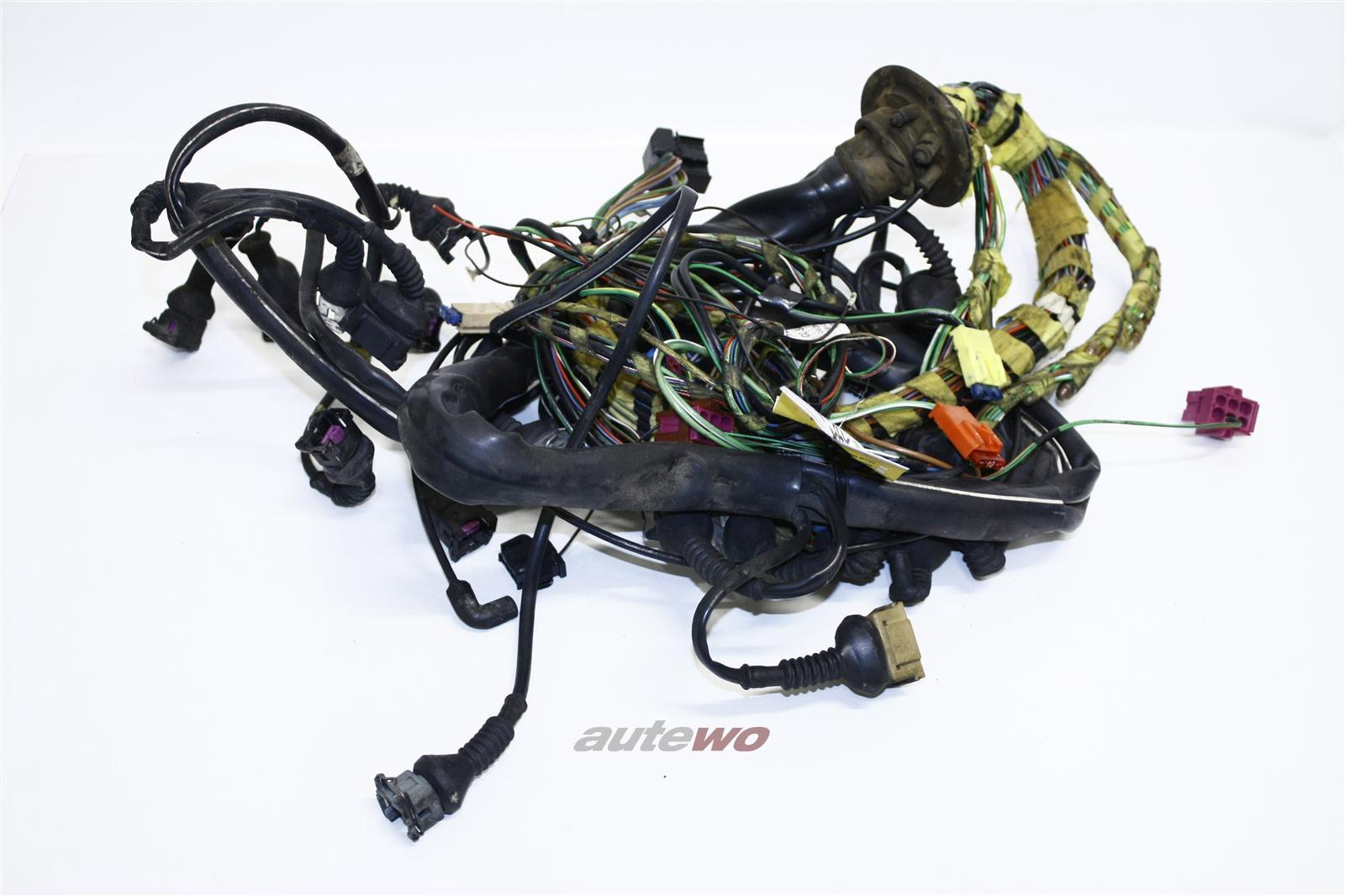 Audi A6 C4 2.6l 150PS ABC Motorkabelbaum Schaltgetriebe 4A1971072NL