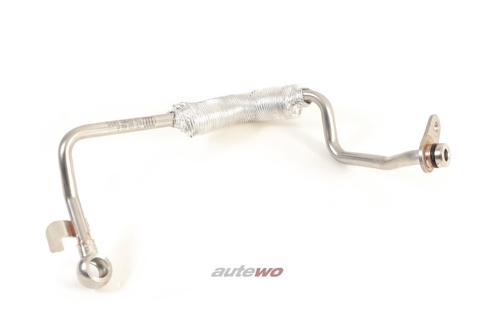 07K121492A NEU Audi RS3 8V 2.5l TFSI Kühlmittelrohr Turbolader Vorlauf
