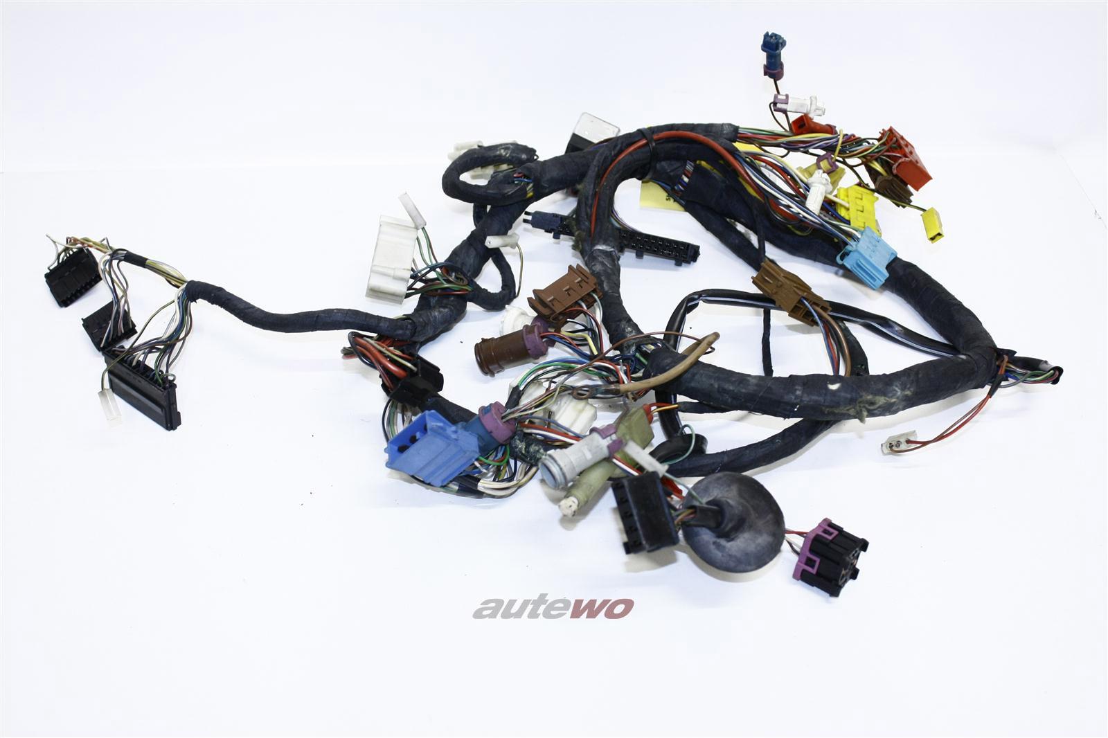Audi 100/200 Typ 44 Kabelbaum Zentralelektrik + Checksystem 443971315AN