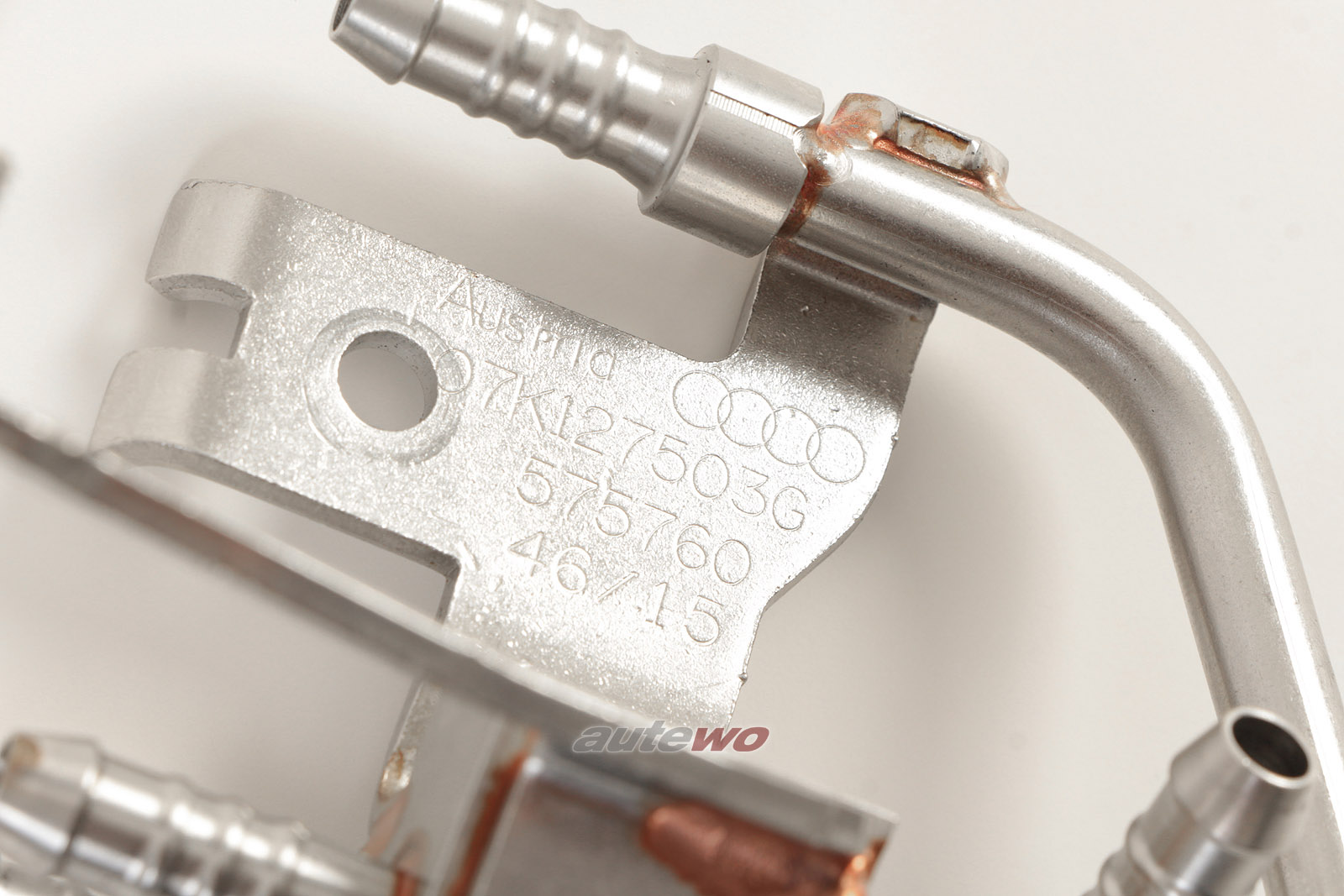 07K127503E 07K127503G NEU Audi RS3 8V 2.5l TFSI Kraftstoffverteiler