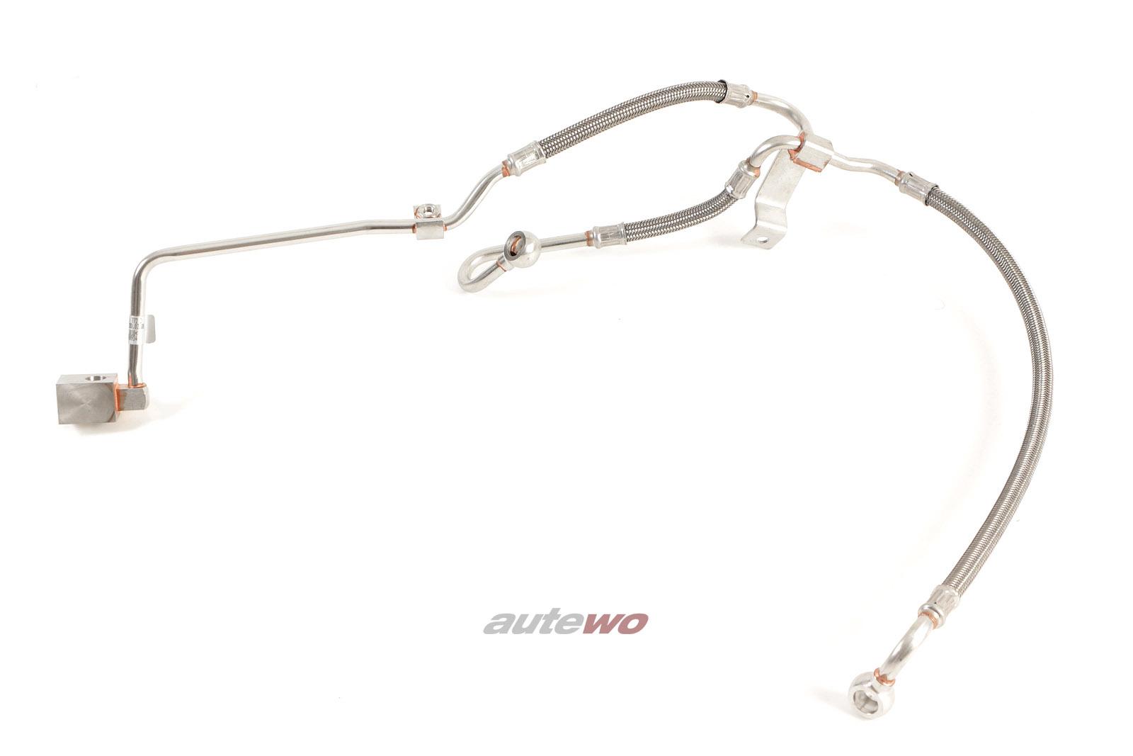 077145772D NEU Audi RS6 4B 4.2l Öldruckleitung Turbolader
