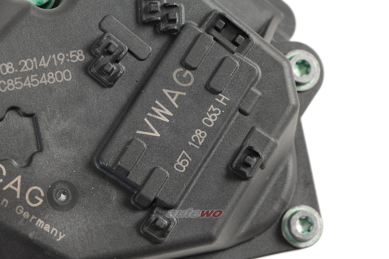 057128063H NEU Audi A8 D4/4H 4.2l TDI Drosselklappe Links/Rechts (identisch!)