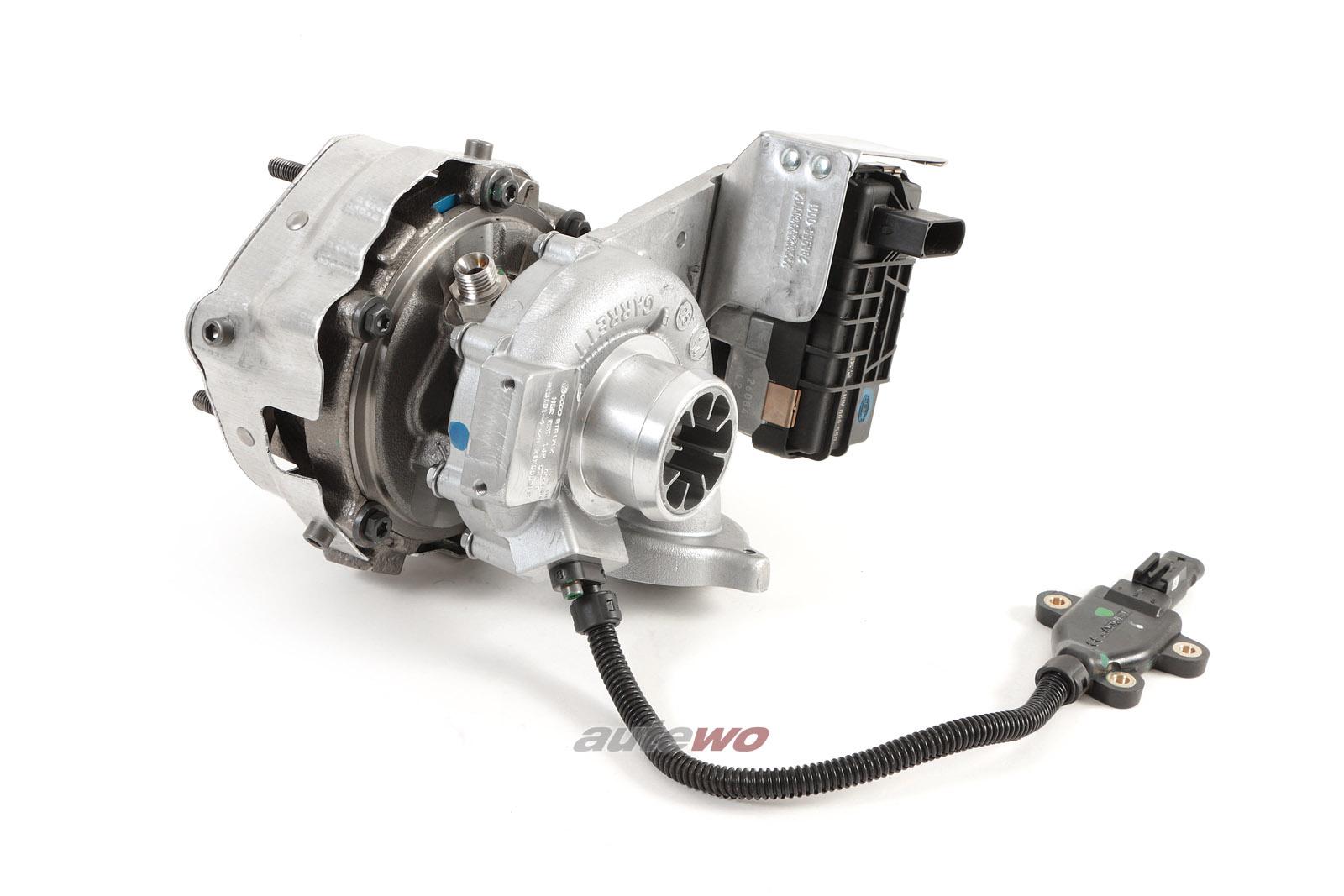 057145873T NEU Audi A8 D4/4H 4.2l TDI original Abgasturbolader Links