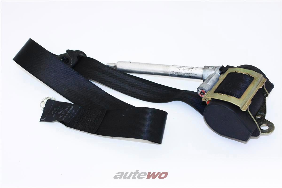 Audi 80 B4/A4 B5 Sicherheitsgurt Links schwarz 8D0857705A 8A0857705M