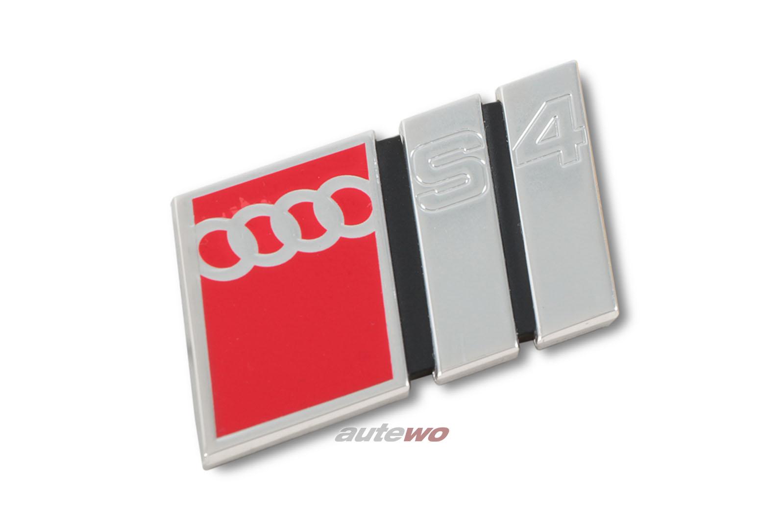 4A9853735 NEU Audi S4 C4 Schriftzug S4 2ZZ Chrom