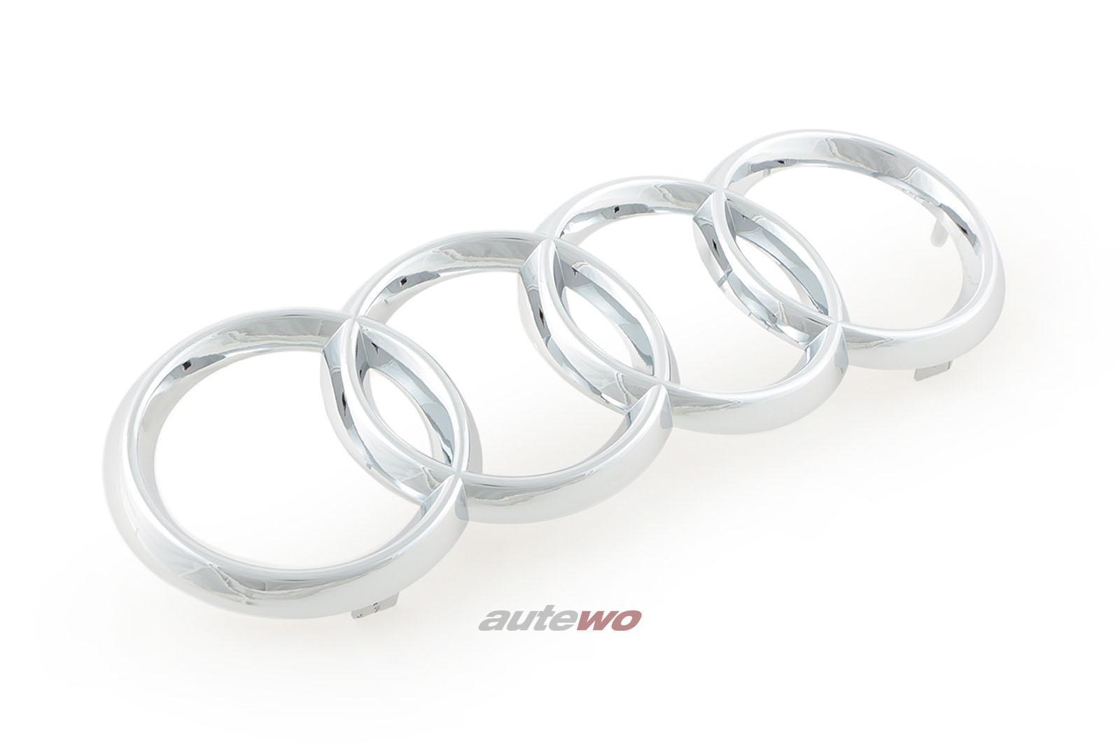 447853605 NEU Audi 200 Typ 44 Audiringe/Audi-Ringe Kühlergrill